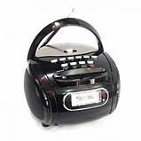 Бумбокс колонка MP3 USB радио Golon RX 186 Black, фото 2
