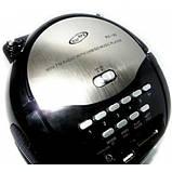 Бумбокс колонка MP3 USB радио Golon RX 186 Black, фото 4