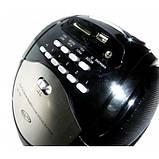 Бумбокс колонка MP3 USB радио Golon RX 186 Black, фото 5