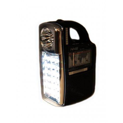 Радио колонка с проигрывателем MP3 с фонарем 040U, фото 1