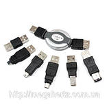 Набор USB переходников 7 в 1 Firewire 1394 AM BM, фото 2