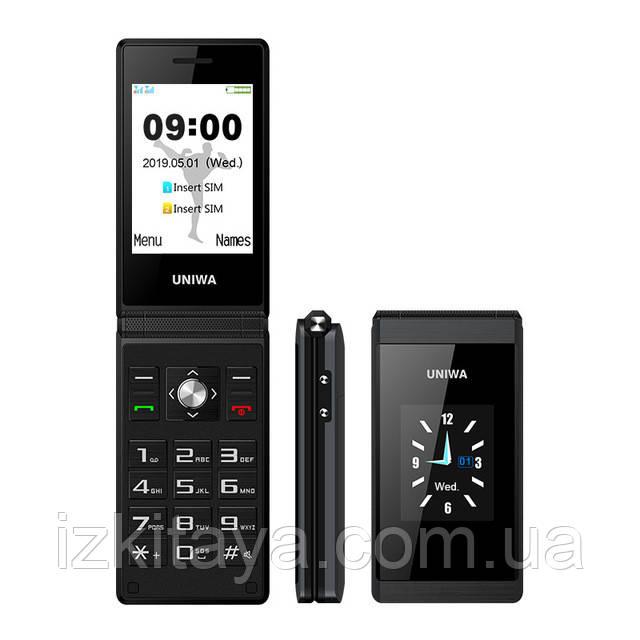 Мобильный телефон Uniwa X28 black