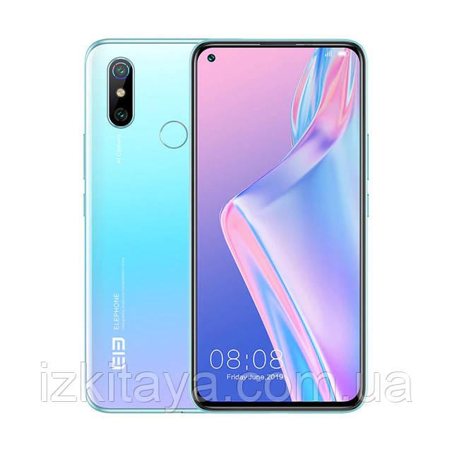 """Смартфон Elephone U3H 8/256Gb blue большой экран 6,53"""" Супер скидка!!!"""