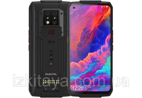 Смартфон OUKITEL WP7 black 8/128 аккумулятор 8000 mAh