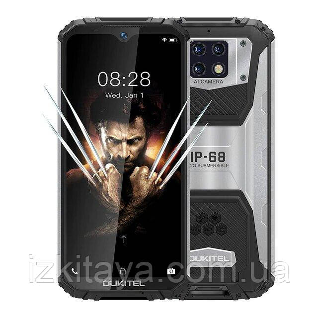 Смартфон OUKITEL WP6 4/128Gb black уровень защиты IP68 аккумулятор 10000 mAh