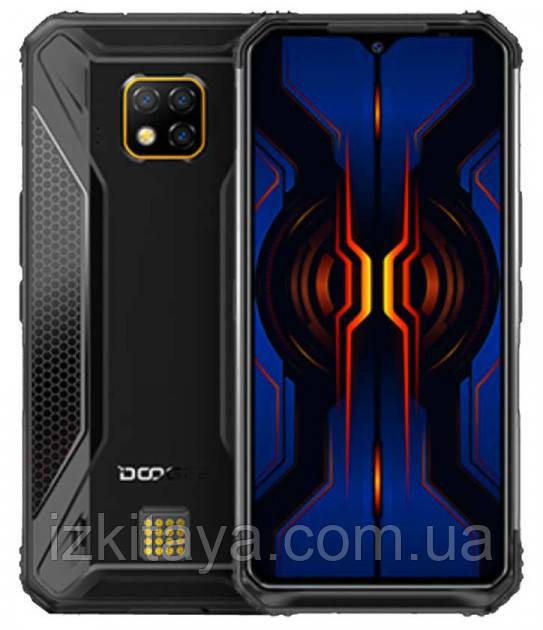 """Смартфон Doogee S95 black 6/128 Гб огромный экран 6,3"""""""