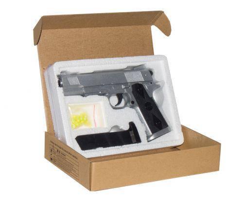 Пистолет металлический ZM25, фото 2