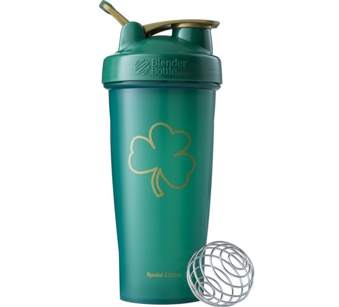 Спортивный шейкер BlenderBottle Classic Loop 820ml Special Edition  Gold Green (ORIGINAL)