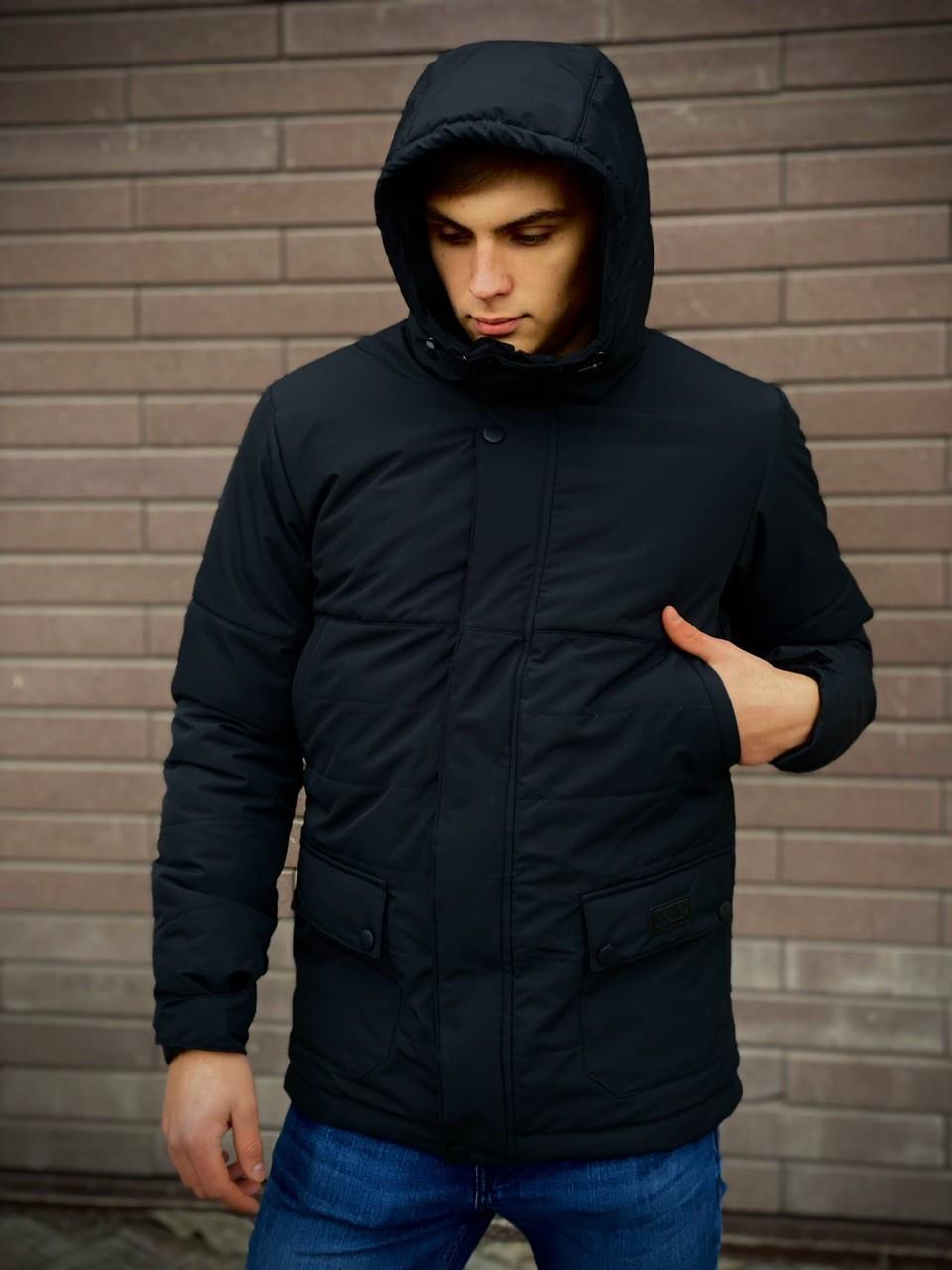Демисезонная Куртка Waterproof (черный) SKL59-259511
