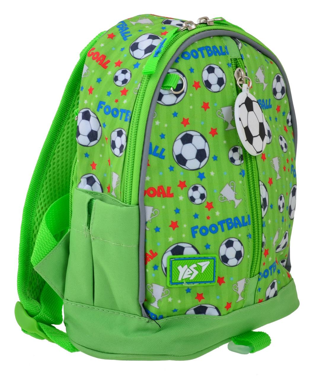 Рюкзак детский  YES  K-30 Match Зеленый (556895)