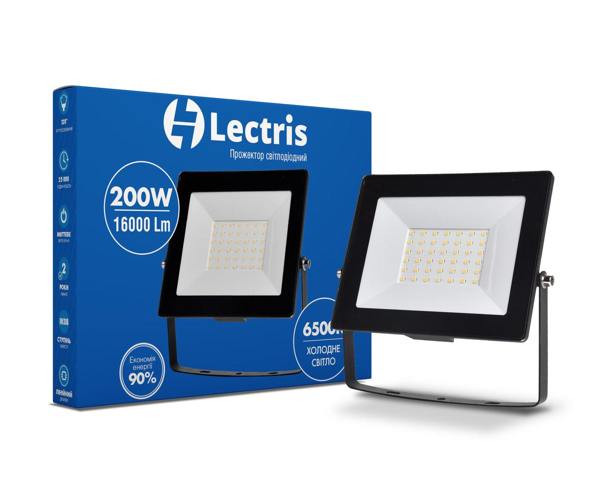 Прожектор LED200W 16000Лм 6500K 185-265V IP65 Lectris