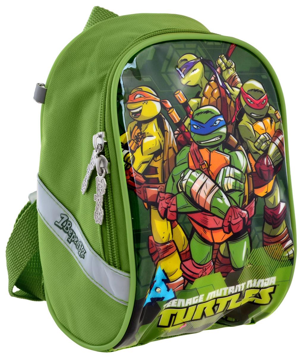 Рюкзак детский 1 Вересня K-26 Tmnt Зеленый (556471)
