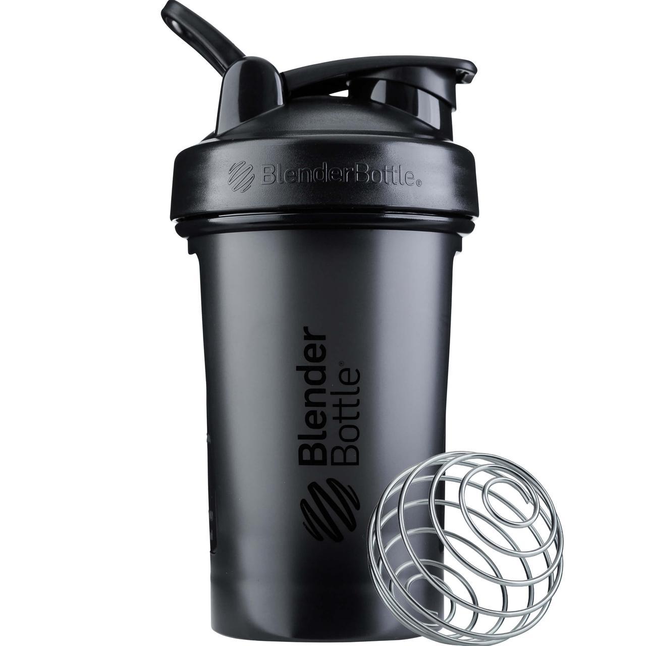 Шейкер спортивний BlenderBottle Classic Loop Pro 20oz/590ml Black