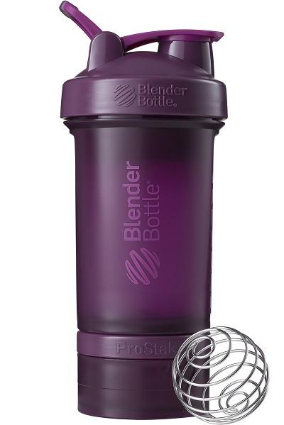 Шейкер спортивный BlenderBottle ProStak 650ml с 2-мя контейнерами Plum (ORIGINAL)