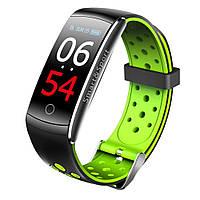 Умный фитнес-браслет Lemfo Q8S со встроенным тонометром Зеленый (ftlemq8sgr), фото 1