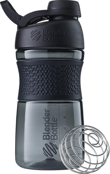 Спортивная бутылка-шейкер BlenderBottle SportMixer Twist 590ml Black (ORIGINAL)