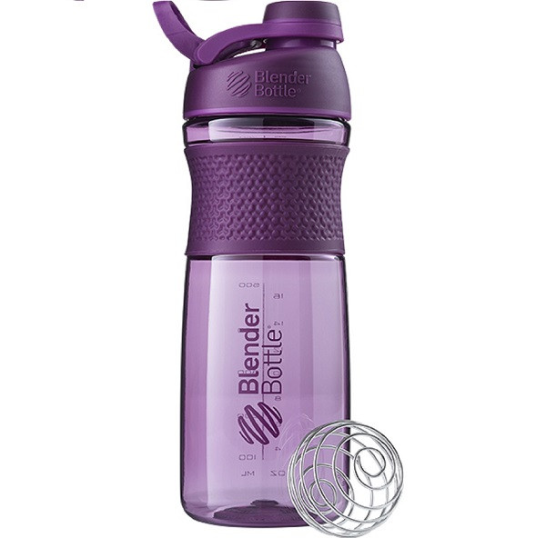 Спортивная бутылка-шейкер BlenderBottle SportMixer Twist 820ml Plum (ORIGINAL)