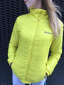 Вітровка жіноча Columbia Жовта