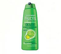 Шампунь для тонких, ослабленных волос, склонных к жирности Объем и Восстановление Garnier Fructis