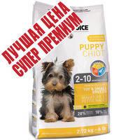 Корм для щенков мелких пород 1st Choice Puppy Toy & Small Breeds 2.72 кг.