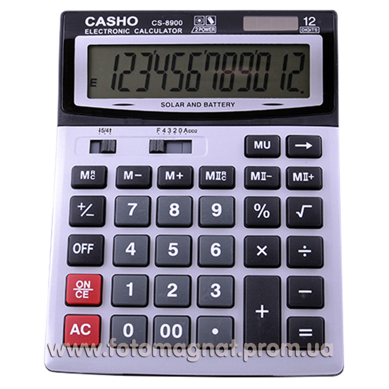 Калькулятор настольный бухгалтерский Kenko 8900