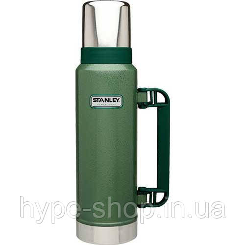 Термос Stanley Legendary Classic 1.3L Vacuum Bottle Hammertone Green