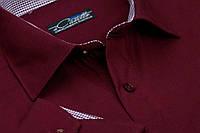 """Бордовая мужская рубашка """"Andora"""", фото 1"""