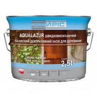 Акрилова лазур для дерева Байріс Aqualazur 2.5 л каштан