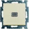 Выключатель 1-клавишный с подсветкой, Basic 55 слоновая кость 2006/1 UCGL-92-507