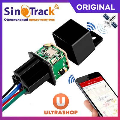 Прихований GPS-трекер Реле c дистанційного блокування двигуна SinoTrack ST-907 Original Version Box