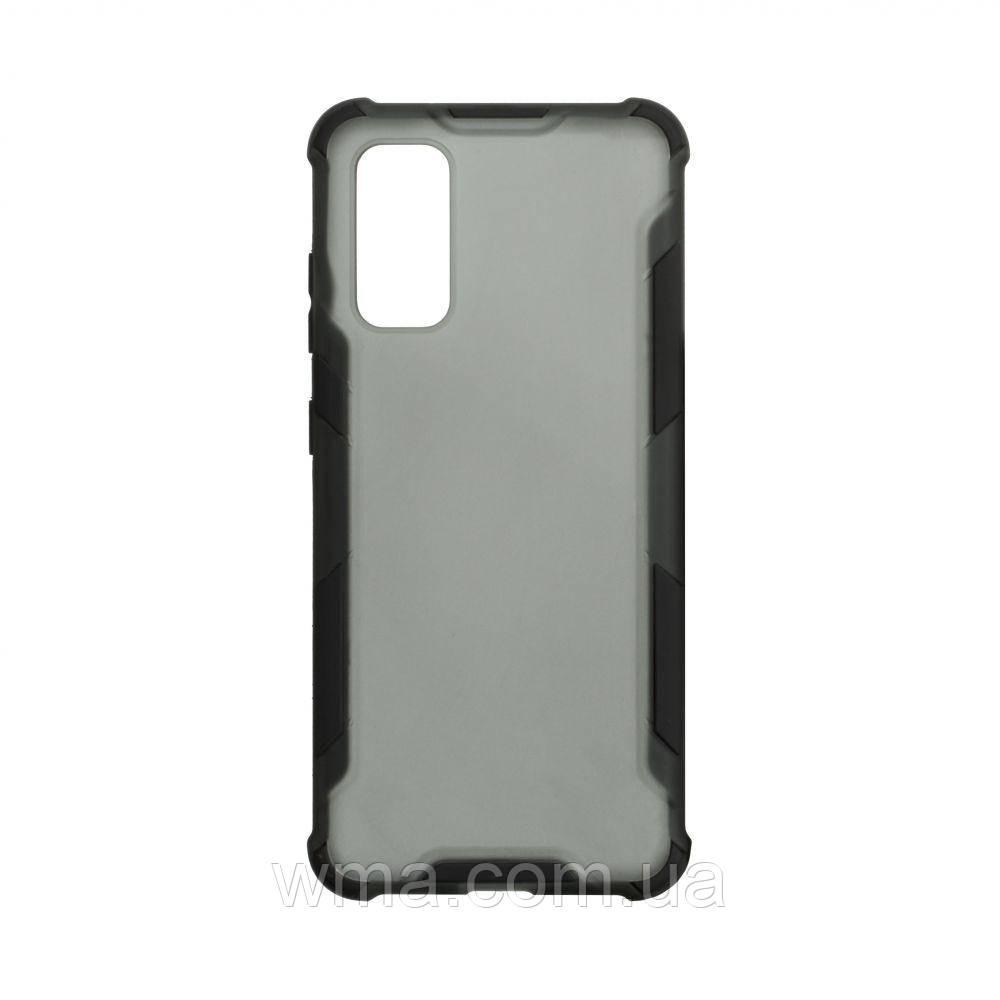 Чехол Armor Case Color for Samsung S20 Цвет Чёрный