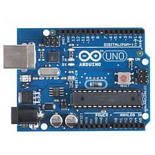 Плата Arduino Uno R3, ATmega328P-AU, USB, AVR + USB кабель