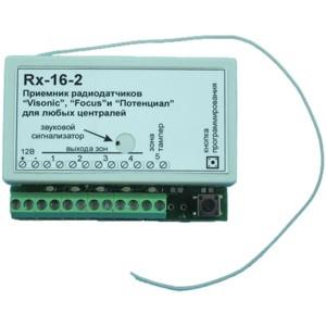 Приемник на 4 радиозоны Rx16-2