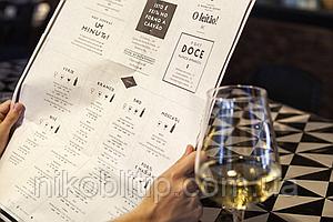 Виготовлення меню для ресторанного бізнесу\ Изготовление меню для ресторанов