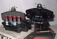 Тормозные колодки передние (комплект) FERODO, FDB1781