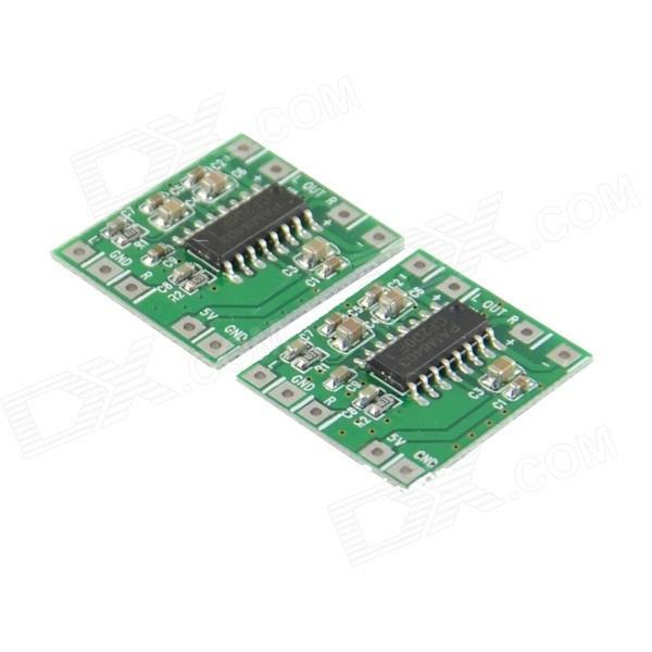 2-х канальный цифровой аудио усилитель 3Вт класс D