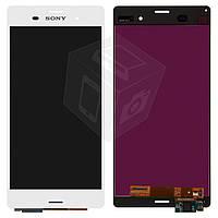 Дисплейный модуль (дисплей + сенсор) для Sony Xperia Z3 D6603 / D6633 / D6643 / D6653, оригинал