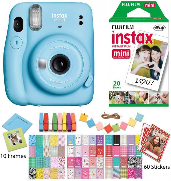 Камера моментальной печати Fujifilm Instax Mini 11 Instant Camera с Пленкой и Аксессуарами
