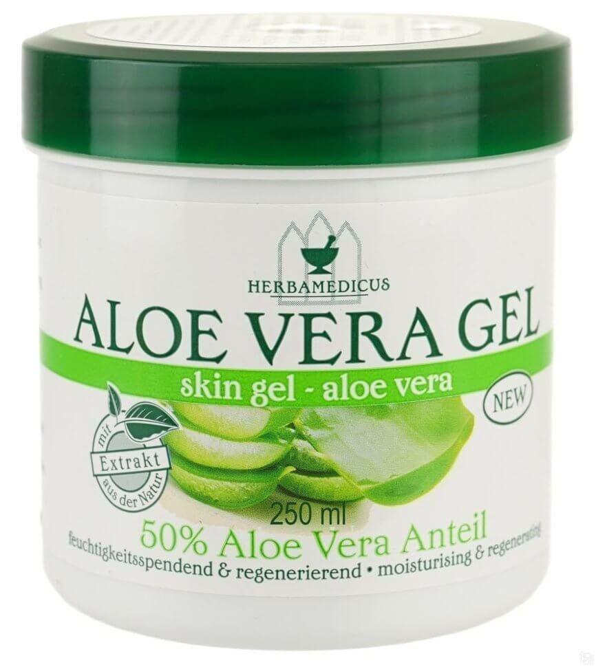 Крем - гель для тела с экстрактом алоэ вера Herbamedicus Aloэ Vera, 250 ml.