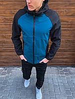 Мужская осенняя куртка флисовая