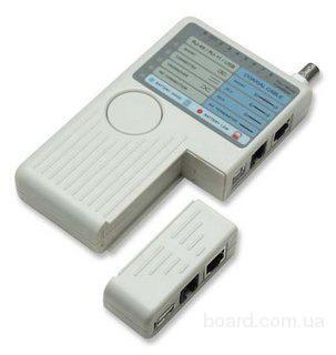 Тестер сети RJ45, BNC, RJ11, USB, детальный анализ