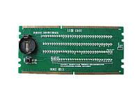 Тестер слота DDR2 DDR3 материнской платы, анализ
