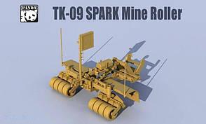 TK-09 SPARK Mine Roller. 1/35 PANDA HOBBY TK-09