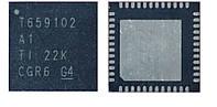 Чип T659102A1 T659102 VQFN48, контроллер питания