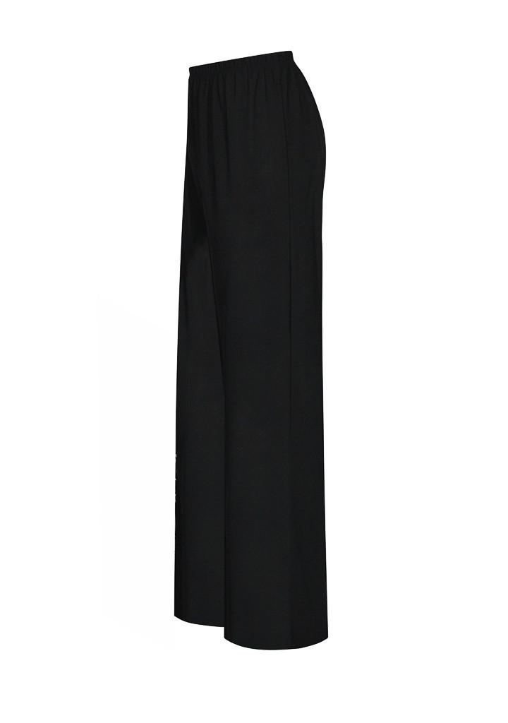 Черные женские трикотажные брюки