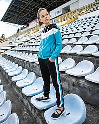 Трикотажний спортивний костюм-двійка для дівчаток розмір 146, 152