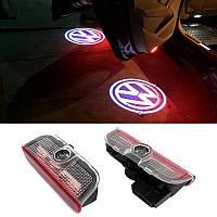 Подсветка дверей с логотипом авто Volkswagen VW Passat/Phaeton/Touareg/GOLF/Jetta/  Подсветка в двери
