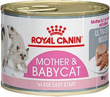 Консервы для котят Royal Canin Babycat Instinctive 0,195 кг