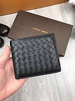 Кошелек клатч портмоне BOTTEGA VENETA бумажник кожаный мужской женский премиум реплика AAA+