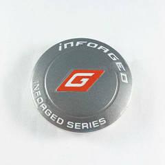 Колпачок в легкосплавные диски Inforged графит (60-65 мм)